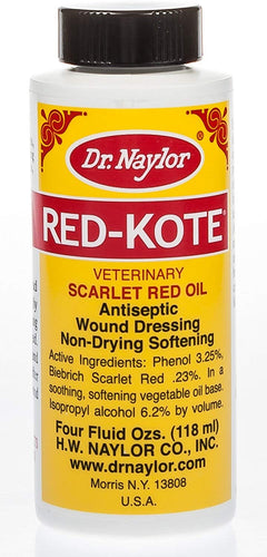 Dr. Naylor Red Kote With Dauber, 4 oz