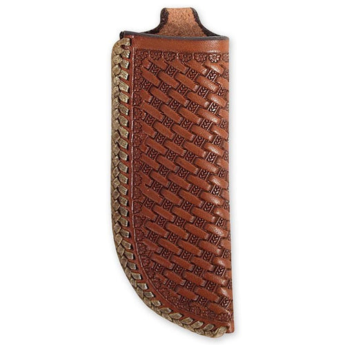 Martin Saddlery Basket Tooled Knife Scabbard