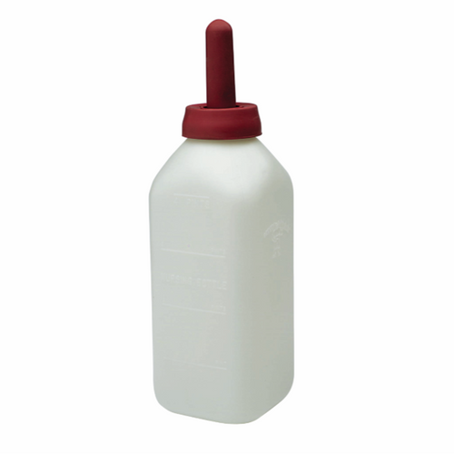 Calf Bottle with Snap-On Nipple, 2 Quart