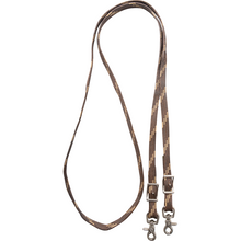 Load image into Gallery viewer, EQUIBRAND MARTIN BRAIDED NYLON ROPING REINS