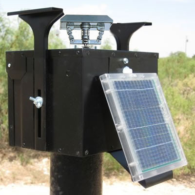 12V Unit with Motor, Rectangle Eliminator and Solar Panel (No Timer)