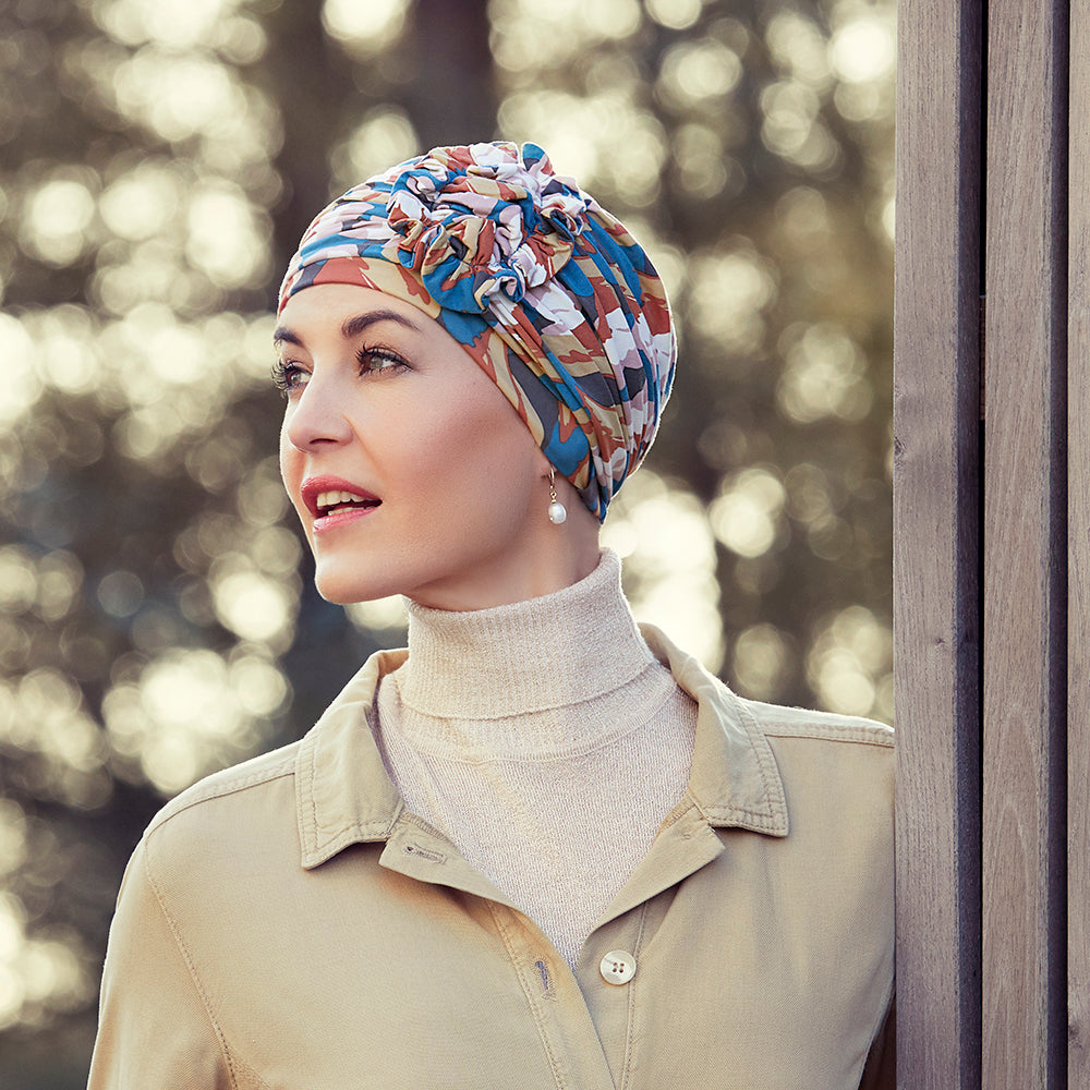 Lotus Turban Autumn