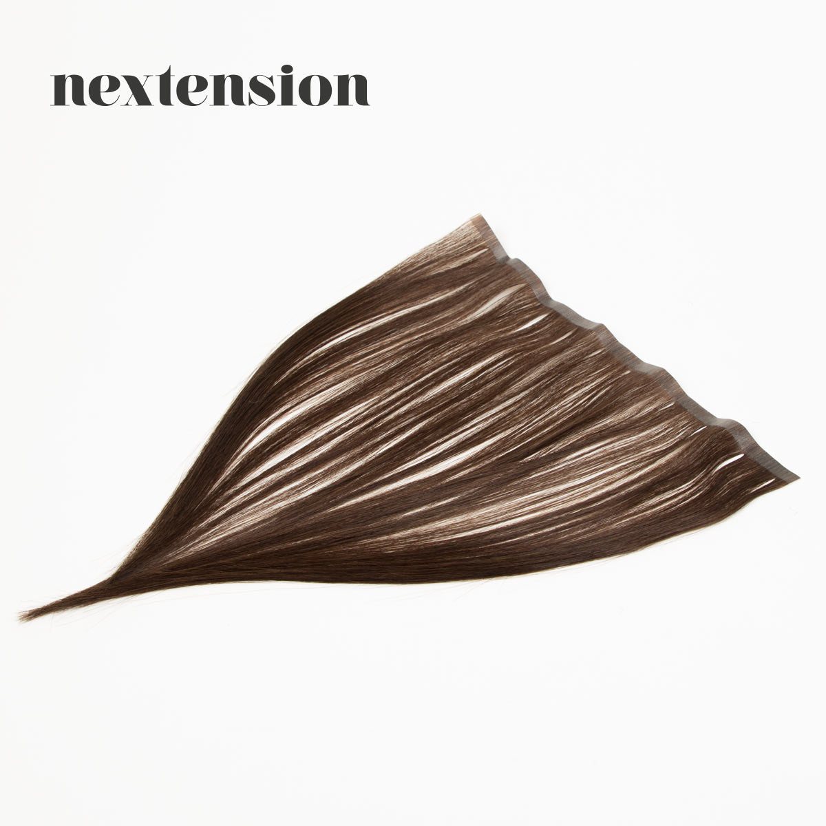 Nextension Tape-In Extension 35cm Loose Strip (30cm) Color #3 Milk Chocolate