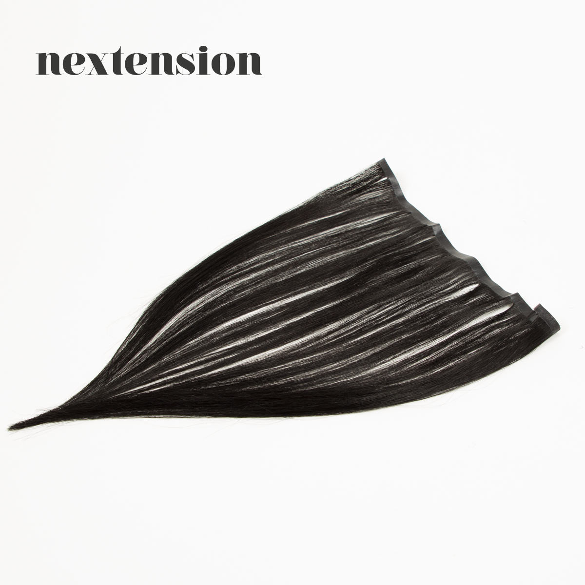 Nextension Tape-In Extension 35cm Loose Strip (30cm) Color #1 Salty Licorice