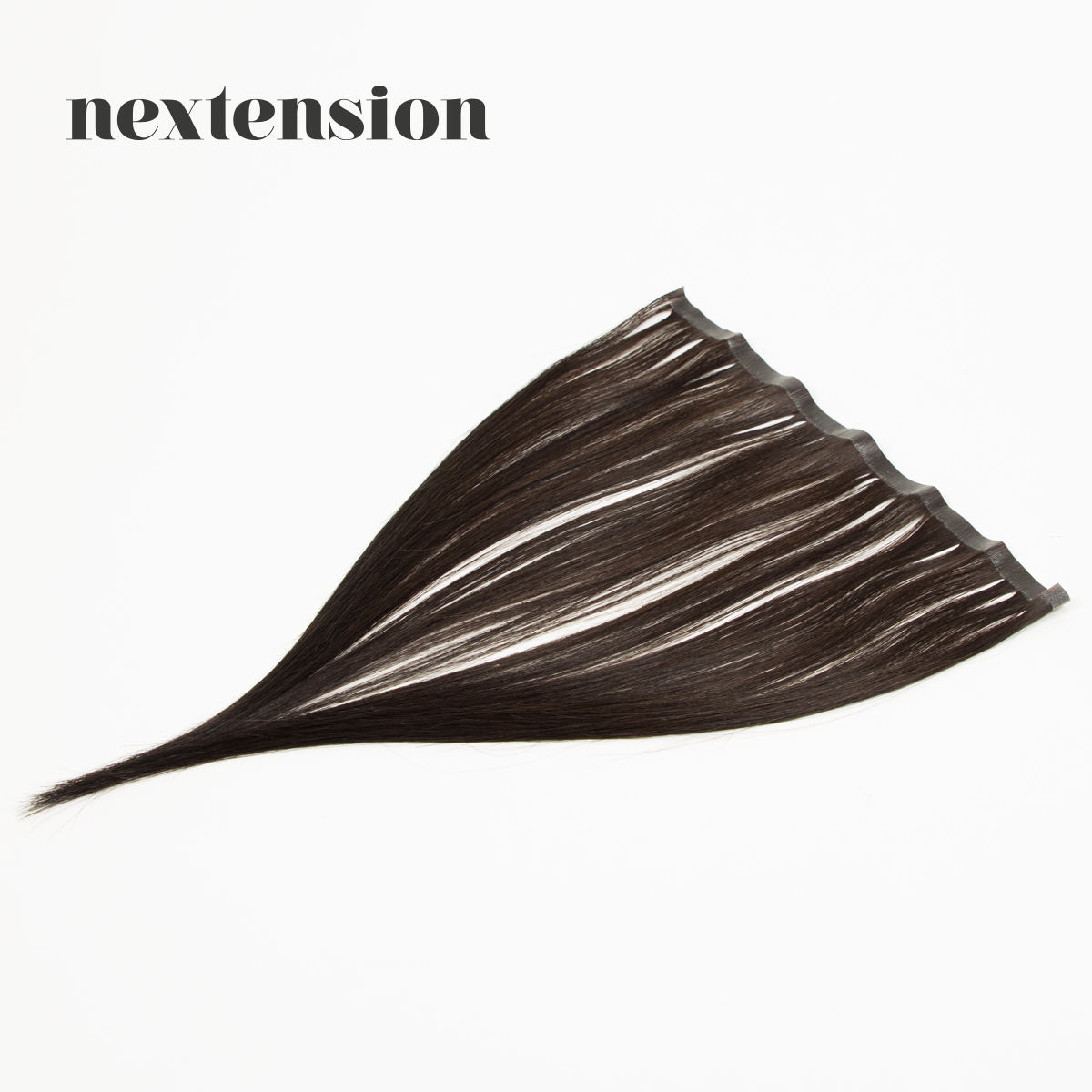 Nextension Tape-In Extension 35cm Loose Strip (30cm) Color #1B Licorice