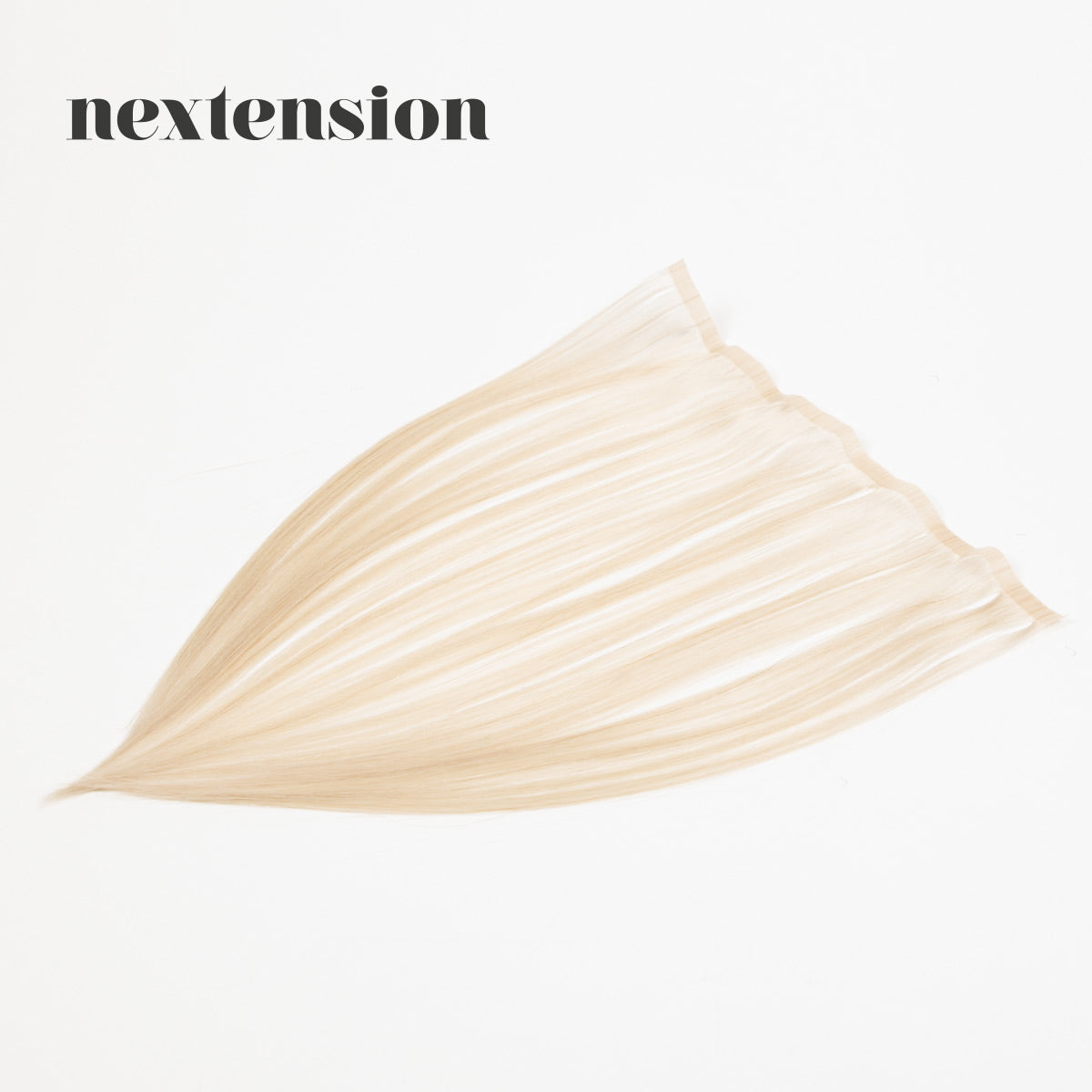 Nextension Tape-In Extension 35cm Loose Strip (30cm) Color #60 Light Ice-Cream