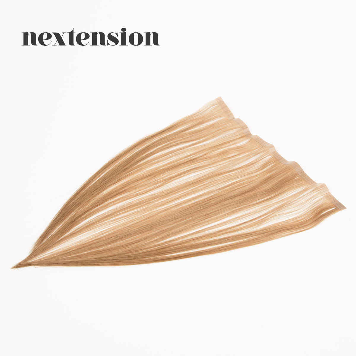 Nextension Tape-In Extension 35cm Loose Strip (30cm) Color #14 Caramel