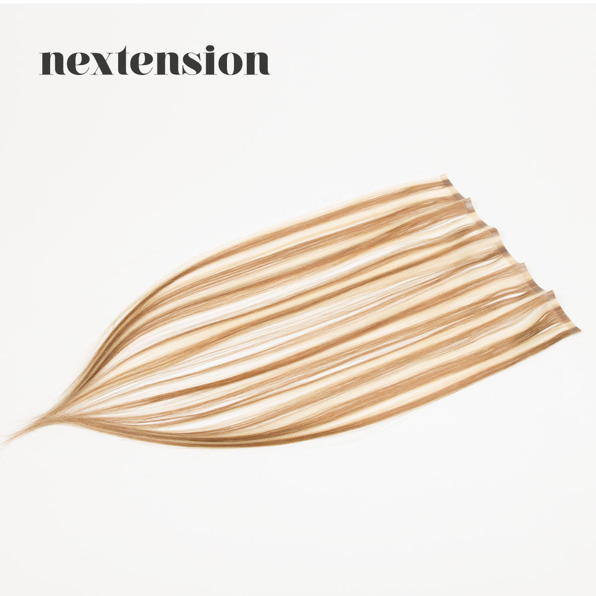 Nextension Tape-In Extension 50cm Loose Strip (30cm) Color #24/18 Chocolate Frappuccino