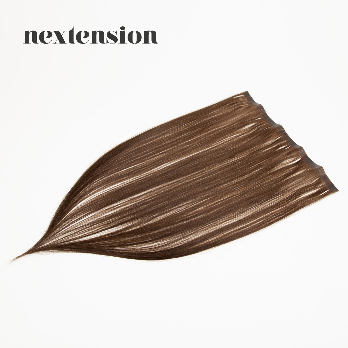 Nextension Tape-In Extension 50cm Loose Strip (30cm) Color #4 Milk Chocolate