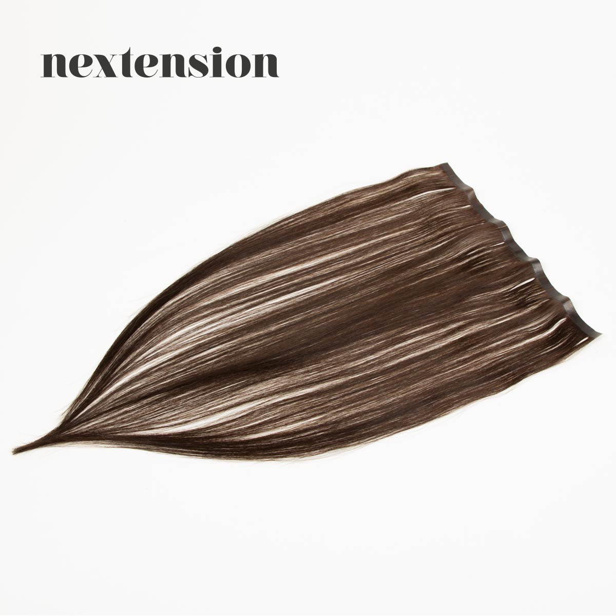 Nextension Tape-In Extension 50cm Loose Strip (30cm) Color #2 Dark Chocolate