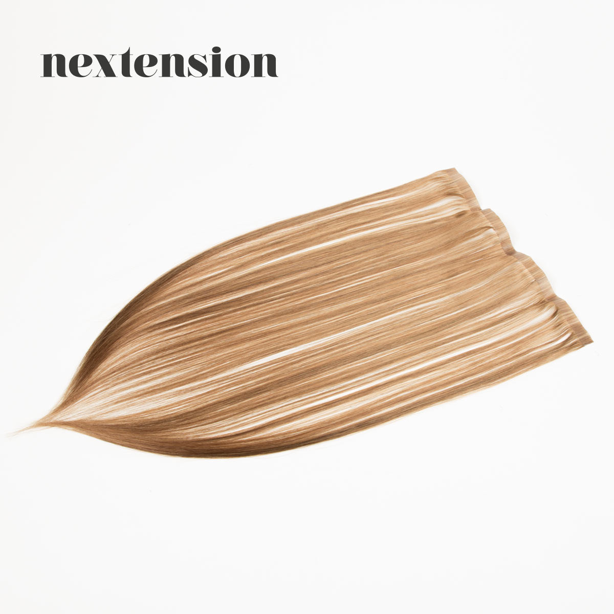 Nextension Tape-In Extension 50cm Loose Strip (30cm) Color #14 Caramel
