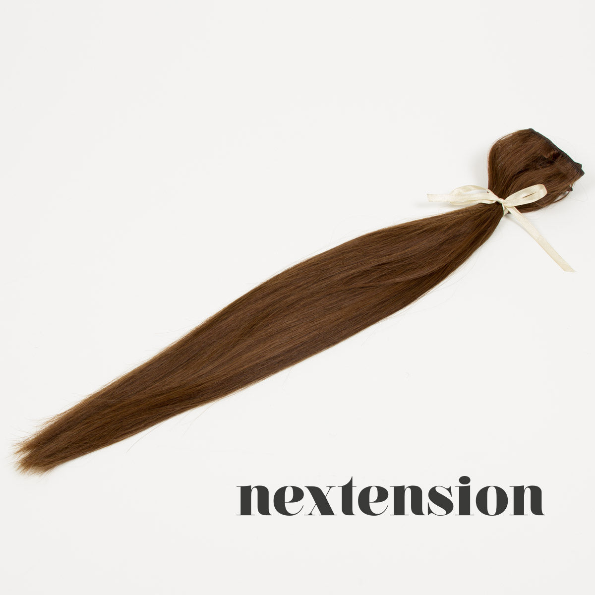 Nextension Clip–On Extension 50cm Color #4 Milk Chocolate