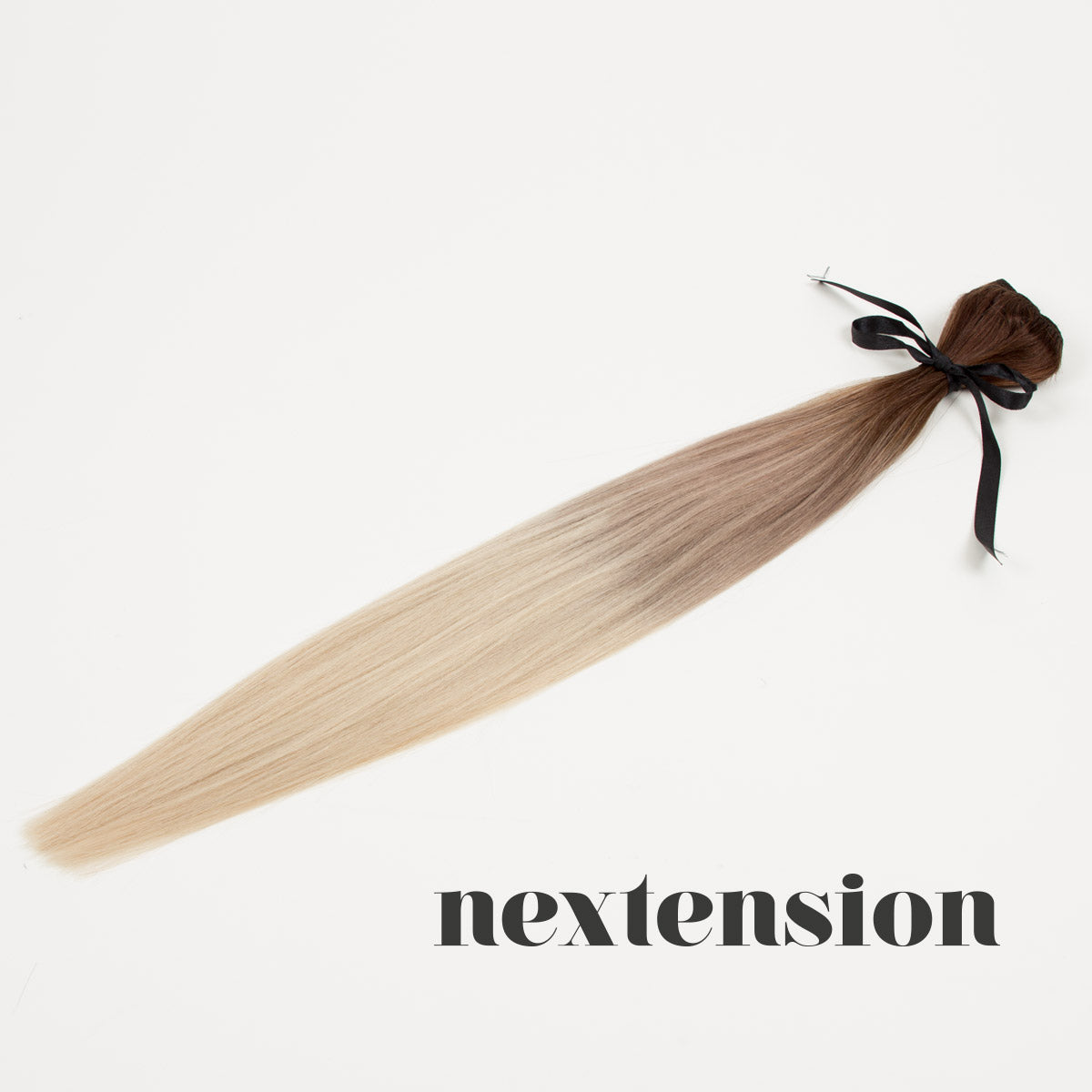 Nextension Clip–On Extension 50cm Color #4/8/60 Light Ombré
