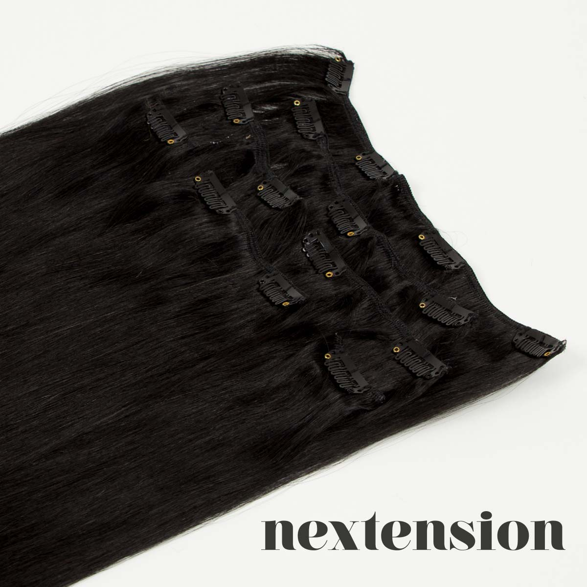 Nextension Clip-On Extension 50cm Color #1 Salty Licorice