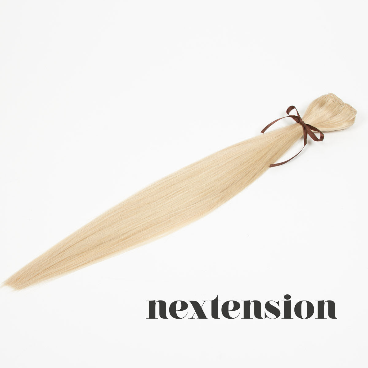 Nextension Clip–On Extension 50cm Color #613 Vanilla Sugar