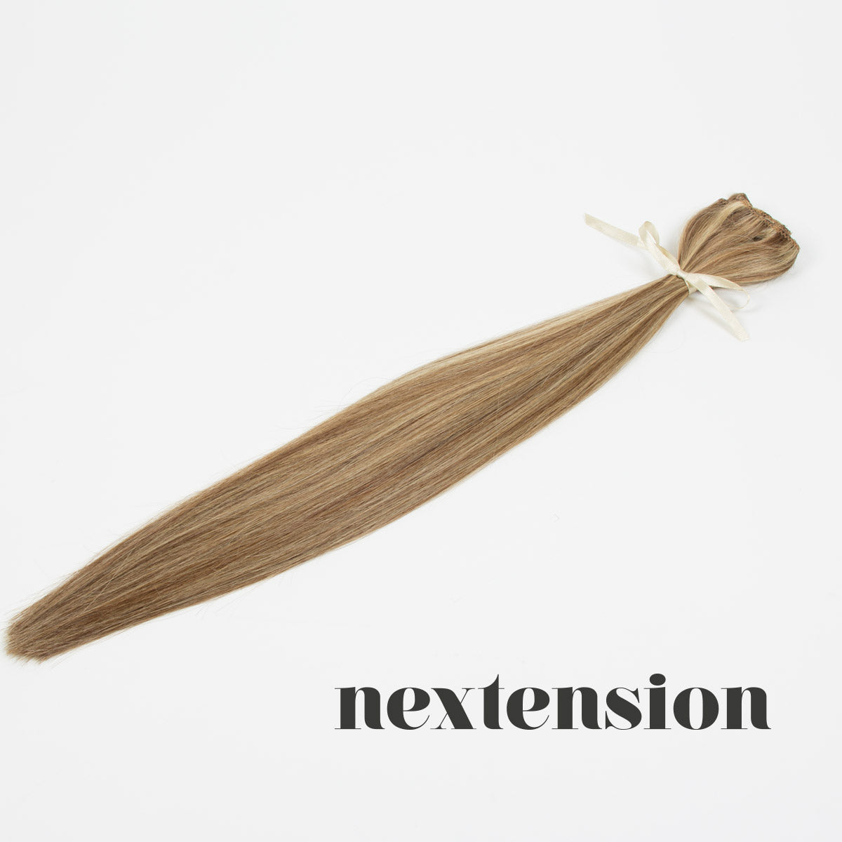 Nextension Clip–On Extension 50cm Color #24/18 Chocolate Frappuccino