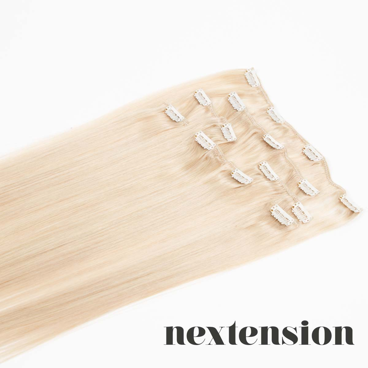 Nextension Clip–On Extension 50cm Color #60 Cool Milk Ice-Cream