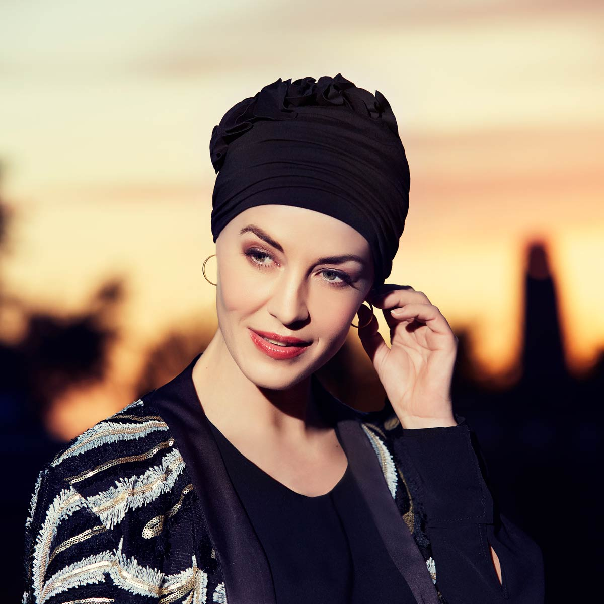 Nadi Turban Black