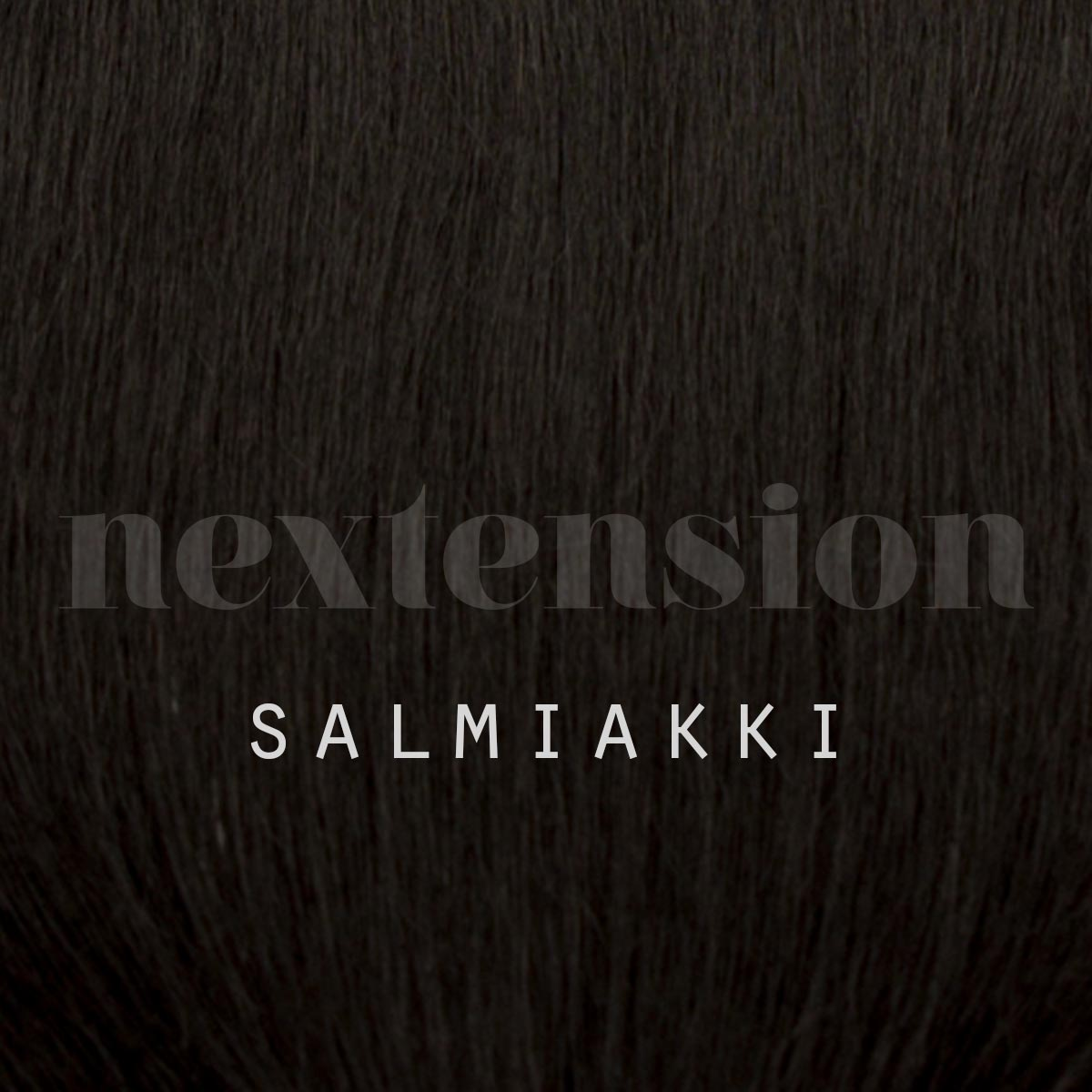 Nextension Tape–In Extension 100% Remy-Hair 35cm Color #1 Salty Licorice