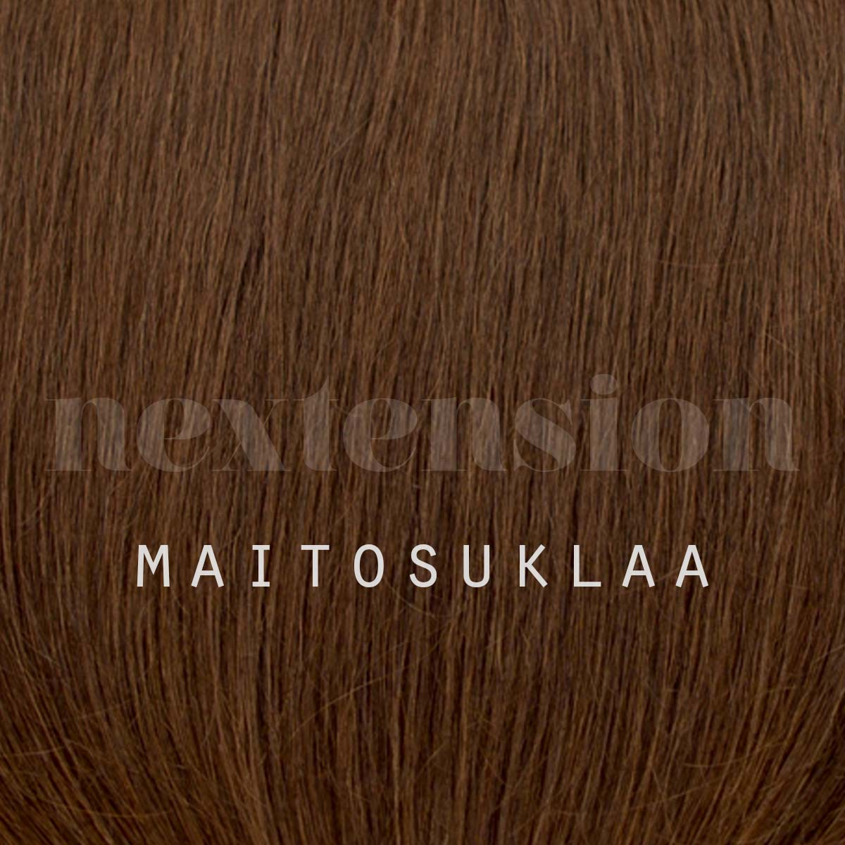Nextension Tape-In Extension 50cm Color #3 Milk Chocolate