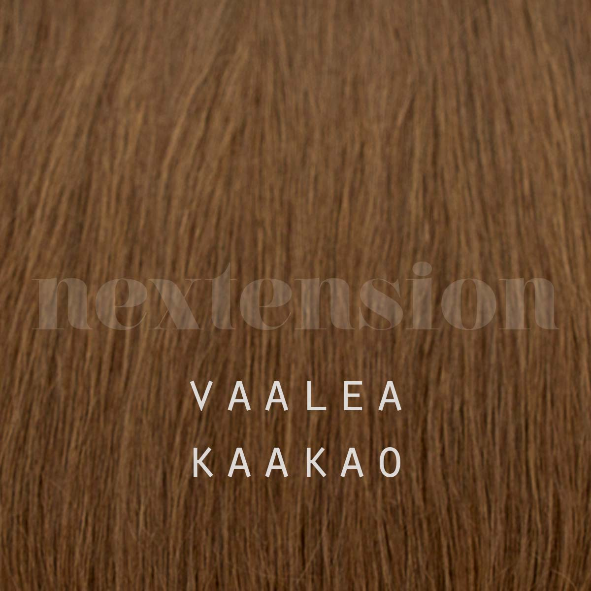 Nextension Tape-In Extension 100% Remy-Hair 35cm Color #6 Light Hot Chocolate