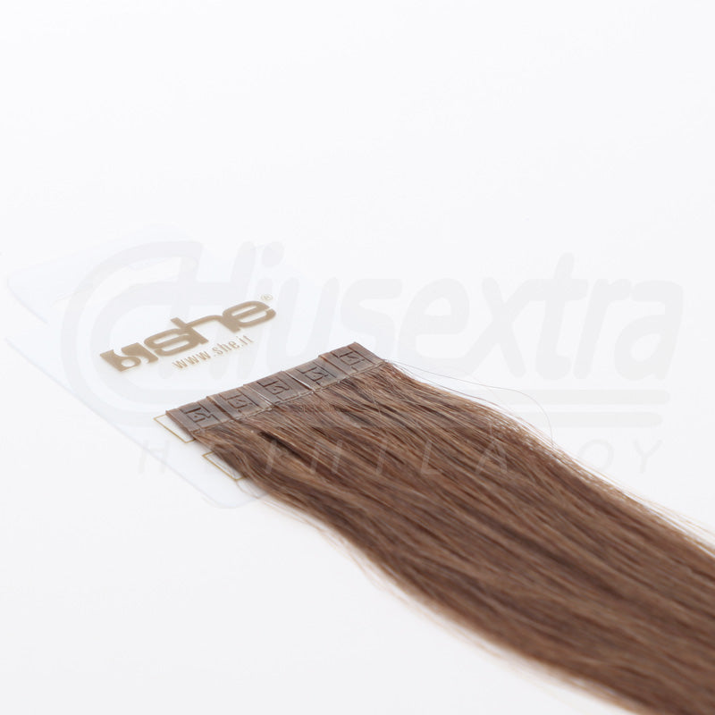 Seal Extension 55cm 100% Remy-Hair Color #10 Pecan