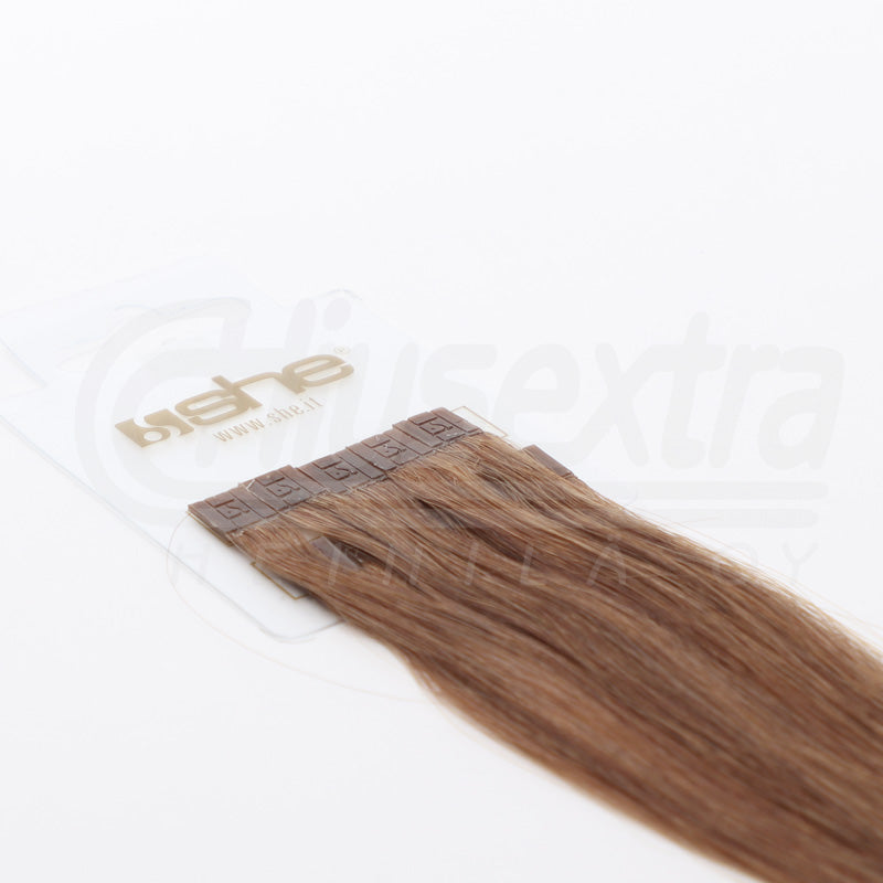 Seal Extension 55cm 100% Remy-Hair Color #12 Caramel