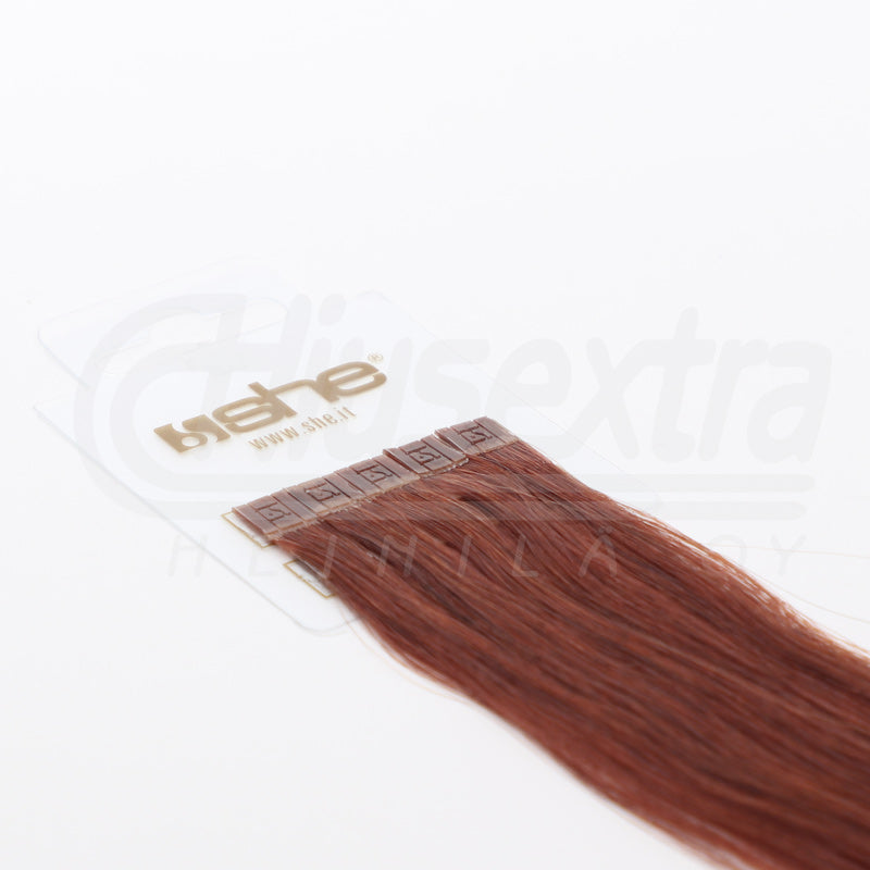Seal Extension 55cm 100% Remy-Hair Color #130 Soft Cherry