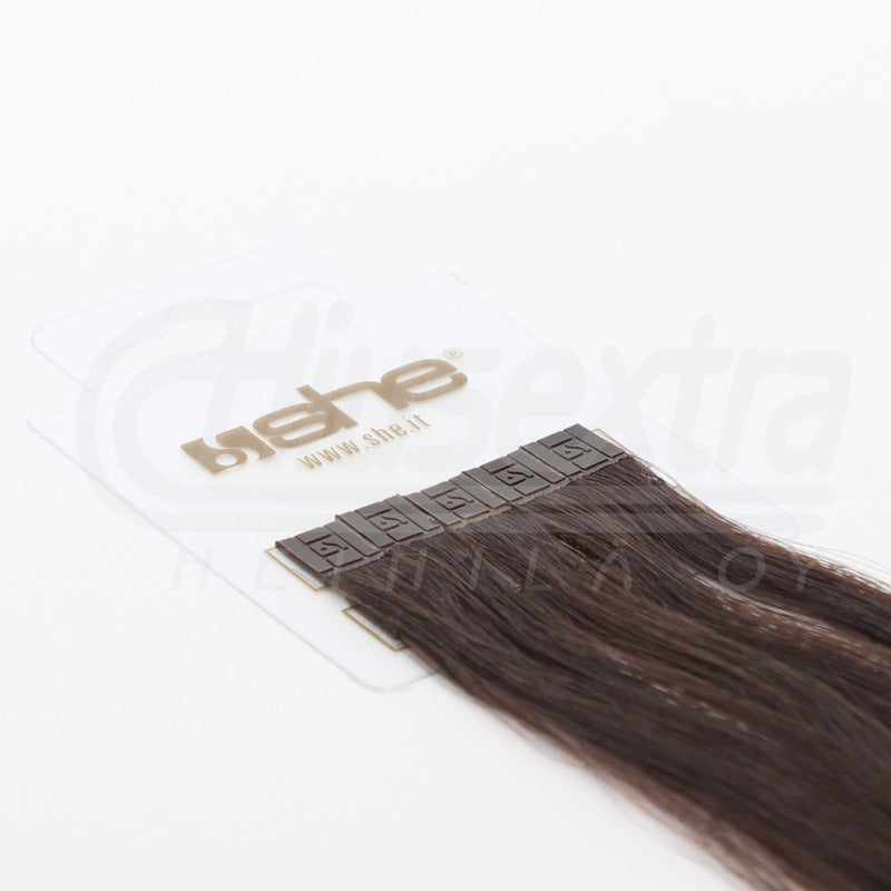 Seal Extension 65cm 100% Remy-Hair Color #4 Chocolate