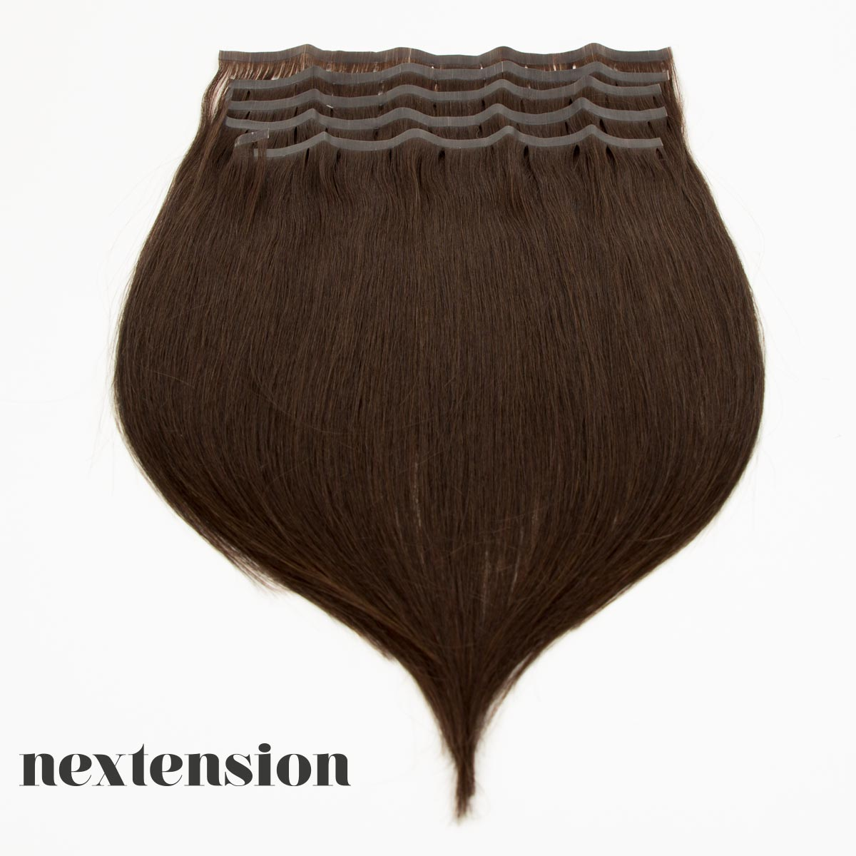 Nextension Tape-In Extension 50cm Color #2 Dark Chocolate