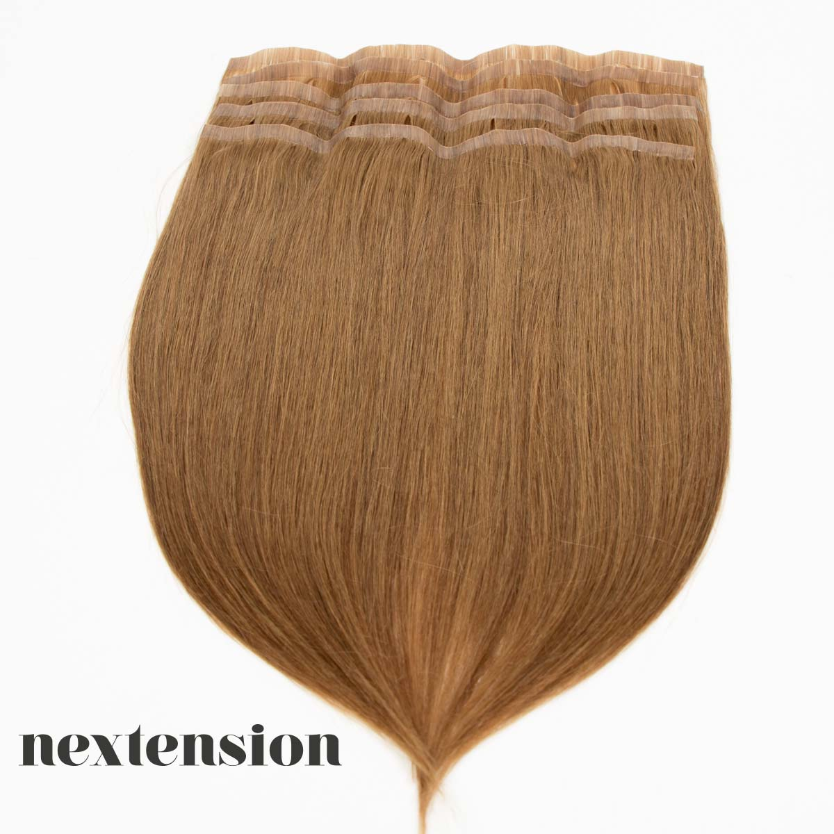 Nextension Tape-In Extension 50cm Color #14 Caramel