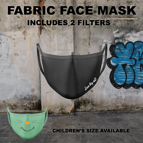 Face Covering/ Mask with filters
