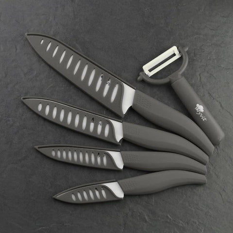 Image of Ceramic Knife - Sharp Eco Friendly Multi Color Ceramic Knife Set 3,4,5,6 Inch