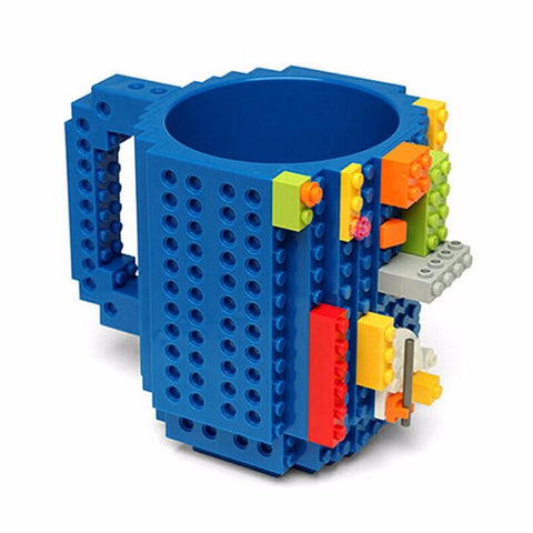 Cups / Mugs - 1Pc 12oz Build-On LEGO Brick Mug Coffee Cup - LEGO Coffee Mug - 6 Colors