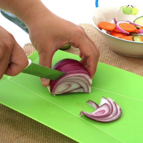Image of Cutting Board - Kitchen Chopping Blocks Foldable Eco-friendly Cutting Board
