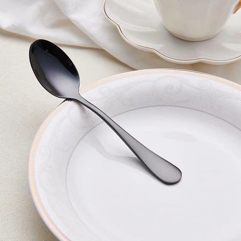 Image of Dinnerware - Dinnerware Set Stainless Steel Dinner Tableware- Makes A Great Gift!