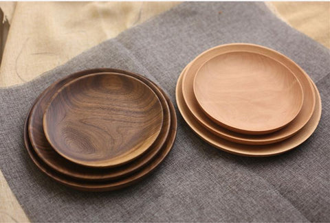Dinnerware - High-Quality Wood Tableware Plates
