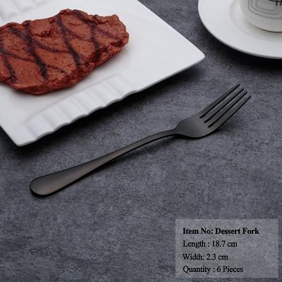 Dinnerware - Hot Sale Black Dinnerware Set Stainless Steel Set Spoons Forks Knives