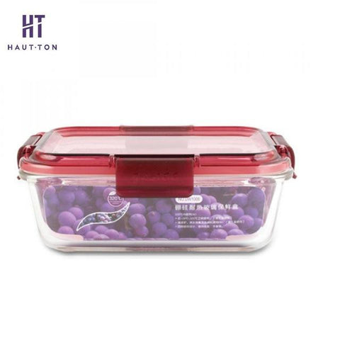 Image of Food Storage - Glass Modern Style Food Storage Containers / Boxes Many Shapes & Sizes