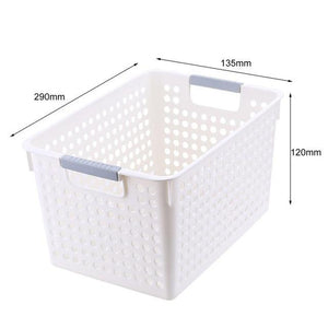 Multi function Storage Basket Organizer Desktop Storage Box