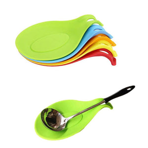 Kitchen Gadget - 1Pc Kitchen Accessories Small Silicone Spoon Mat,Spatula