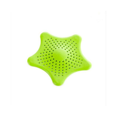 Kitchen Gadget - 1Pc Star Sink Filter Anti-blocking Drain Stopper Catcher Kitchen / Bathroom