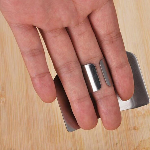 Image of Kitchen Gadget - Finger Guard Protection Tool Stainless Steel