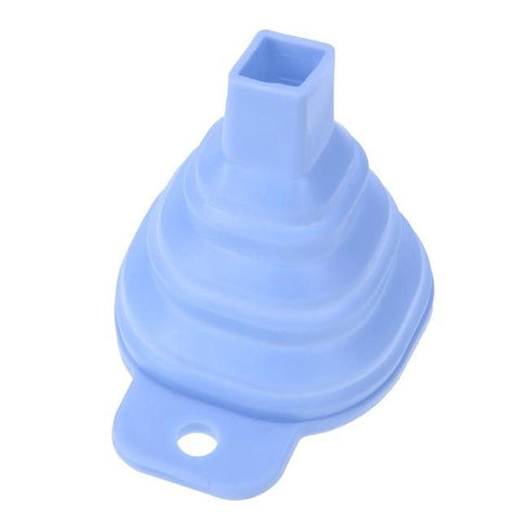 Image of Kitchen Gadget - Mini Silicone Funnel - Foldable Funnel