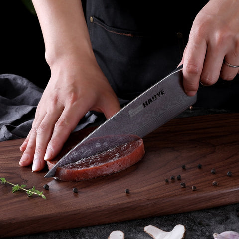 2019 World's Best Damascus Chefs Knife - Japanese 67 layers VG10 steel w/ Exotic Sandalwood Handle