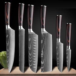 Stainless Steel Knife Set Japanese Kitchen Knives - (80% off)