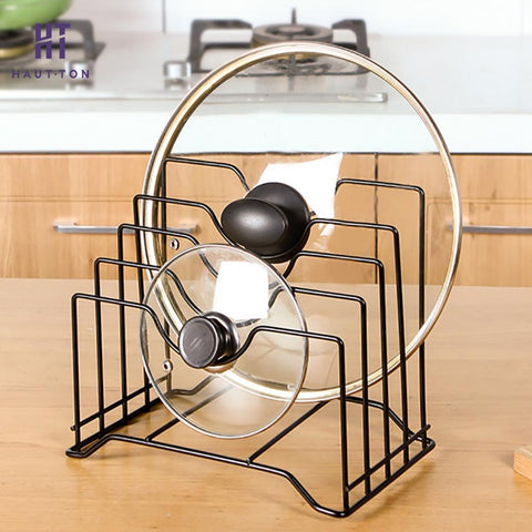 Stainless Steel Drain Rack Multi-function Plate Pot Storage Holder Kitchen Tool