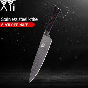 3.5/ 5/ 5/ 7/ 8 inch Japanese Damascus Stainless Steel Kitchen Knife Super Sharp