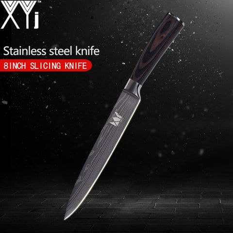 Steel Knives - 3.5/ 5/ 5/ 7/ 8 Inch Japanese Damascus Stainless Steel Kitchen Knife Super Sharp