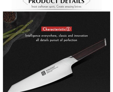 Steel Knives - 8'' Chef Knife German Stainless Steel New Arrival (80% OFF)